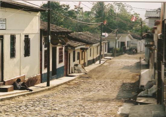 rue typique du centre