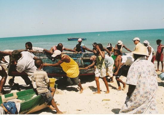 retour des pêcheurs - côte nord