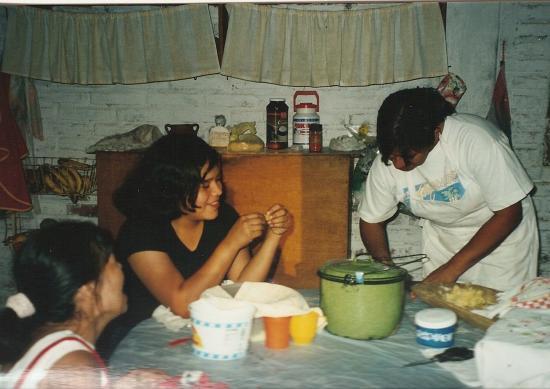 préparation à la cuisine